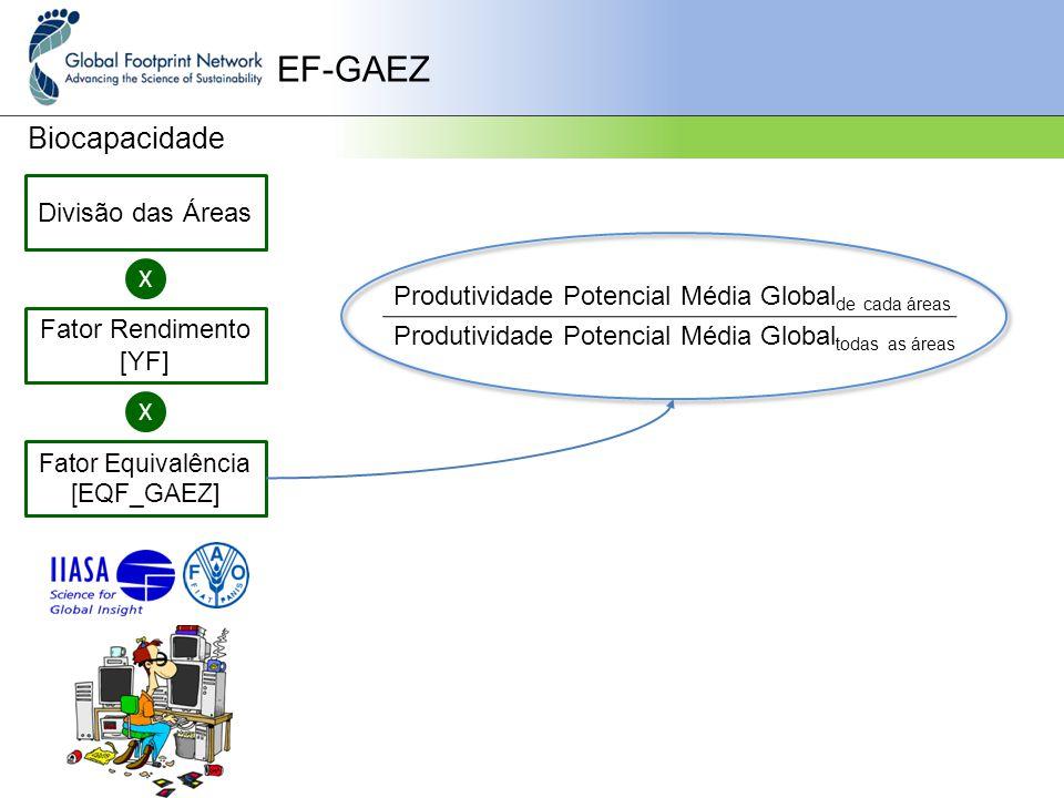Fator Equivalência [EQF_GAEZ]